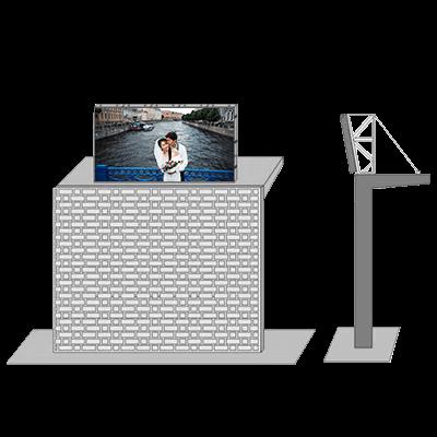 LED Roof display